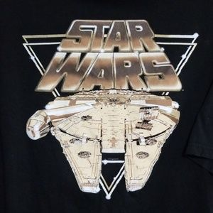 Star Wars black short sleeve tee